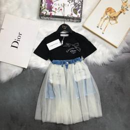Body Tutu NZ - 2019 New Sale childrens clothes kids clothing skirt set fashion cute Skirt pleated design upper body fashion