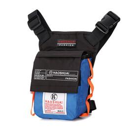 $enCountryForm.capitalKeyWord UK - Fashion Drop Bum Bags Men Waist Pack Bag Motorcycle Waterproof Fanny Pack Phone Shoulder Chest Bag Money Belt Leg Pouch Bag 2017 J190521