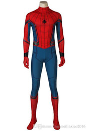 Civil War Costumes Halloween Australia - Newest Civil War Spiderman 3D Shade Spandex Fullbody Cosplay Costume Halloween
