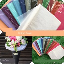 $enCountryForm.capitalKeyWord NZ - Gift Packaging Craft Tissue Paper Flower Wrapping Paper Roll Wine Shoes Clothing Multi-Colored Packing Material