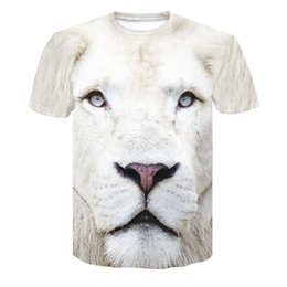 f780401ae 2019 New Brand Summer Men's tshirt Animal Lion 3D Printed T shirt Hip hop O-Neck  Short Sleeve Clothing HommeTop Tees dropship