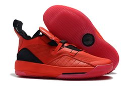 727de097efa09a Best Quality Jumpman XXXIII 33 Mens Basketball Shoes Hot Sale 33s Red Black  Outdoor Trainers Sports Sneakers Size EU40-46