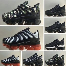Infant Camo Australia - 2018 Chaussures Air Kids Tn Plus Running Shoes Infant big boys girls Camo Black White Sports Sneakers Run plus TN Maxes Designer Shoes