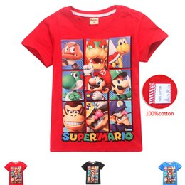 $enCountryForm.capitalKeyWord Australia - DGFSTM brand Summer new Korean version tide men half sleeve Super Mary short sleeve T-shirt casual t-shirt for foreign trade children C22