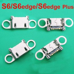 s6 dock connector Australia - For Samsung S6 S6 edge S6 edge+ plus charging dock port USB charger connector jack socket G920 G920F G925 G928 G925F