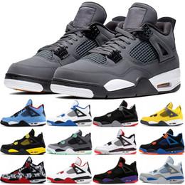 Sport 89 online shopping - Best Quality s Bred Thunder Cactus Jack Men Basketball Shoes IV Cool Grey Alternate Tattoo Flight Nostalgia Designer Sport Sneakers