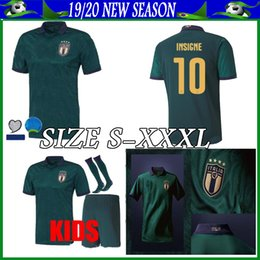 Panting kit online shopping - italy kids football kits third soccer jersey boy kit Camisetas Futbol Camisas Maillot Football Shirt pants socks