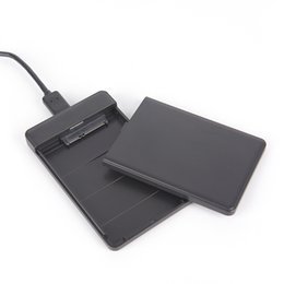 Usb enclosUre for hard drive online shopping - 1pc Hard Drive USB SATA External quot HDD SSD Enclosure Box Transparent Case Inch for Windows Mac