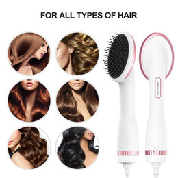 $enCountryForm.capitalKeyWord Australia - Lescolton One Step Hair Dryer & Styler Hot Air Paddle Brush Hair Dryer Straightener for All Hair Types