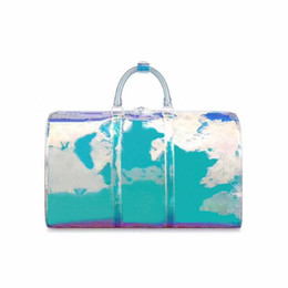 $enCountryForm.capitalKeyWord Australia - best 2019 men women luxury designer travel luggage bag men totes keepall pvc clear bags women duffle bag size 50*23*29 Free shipping keepall