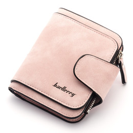 christmas scrubs UK - 2019 New Women's Wallet Baellerry Brand Wallet Lady Scrub PU Leather Female Wallets Purse for Coins Carteira Feminina Bolsa