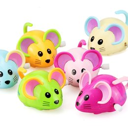 Toy Mice For Kids Australia - Funny Baby Toys 0-12 Months Cartoon Animal Mouse Wind Up Toys Infant Toddler Clockwork Educational Toys For Kids Gifts Hot Sale