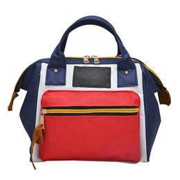 $enCountryForm.capitalKeyWord UK - Women's Handbag Stylish Canvas Double Function Preset Bag Adult Lady Smiling Face Pattern Handbags for Women 2018