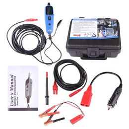 Tester 12v Digital Australia - Power Probe Car Electric Circuit Tester Automotive Tools Auto 12V Voltage Vgate Pt150 Electrical System Tester Work Perfect