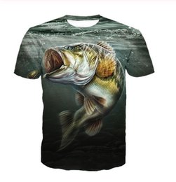 Nueva moda para hombre Womans Eat Hook Fish T-Shirt Summer Style Divertido Unisex 3D Imprimir Casual T-Shirt Tops Tallas grandes DXR022