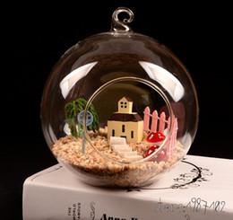 $enCountryForm.capitalKeyWord Australia - 12pcs Glass Terrarium Ball Globe Shape Clear Hanging Vase Flower Air Plants Container Mini Landscape Diy Wedding Home Decoration Y19062803