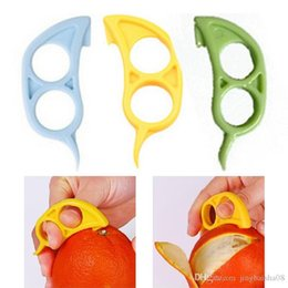 Orange cutters online shopping - Mouse Shape Lemons Orange Citrus Opener Peeler Remover Slicer Cutter Quickly Stripping Kitchen Tool