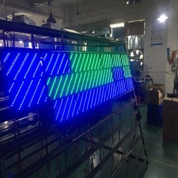 $enCountryForm.capitalKeyWord Australia - free shipping semi-outdoor p10 smd green color led scrolling sign module 320*160mm for LED text display