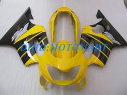 $enCountryForm.capitalKeyWord Australia - Injection Customized Fairing set for HONDA CBR600F4 99 00 CBR600 F4 1999 2000 CBR 600 F4 600F4 CBR600 black yellow Fairings body kit HP43