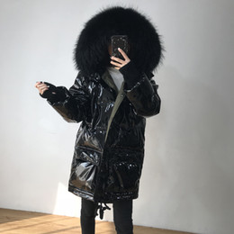 $enCountryForm.capitalKeyWord Australia - Real Raccoon Fur 2019 Winter Jacket Coat Women Long Down Parka Super Thick Duck Down Jacket Female Waterproof Hooded Coat