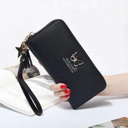 $enCountryForm.capitalKeyWord Australia - Fashion Women Wallet Wrist Handle Phone Wallet Women Wallets Money Pocket Pouch Handbag Women's Purse Card Holders 2019