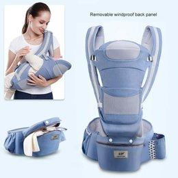 Vente en gros Porte-bébé Sac À Dos Doux Confortable Porte-Bébé Enveloppe Coton Respirant Enveloppe Kangourou Sac Inodore Infant HipSeat