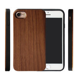BamBoo case iphone genuine online shopping - For Wood Iphone Case iphone PLUS X XR Xsmax Genuine Wooden Bamboo Phone Cover For Samsung Galaxy Note9 S9 S8PLUS Low Price
