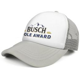 $enCountryForm.capitalKeyWord Australia - Busch beer pole award men's Sport baseball hat High Quality adjustable women's sun cap printed Hip-hop cap mesh hats