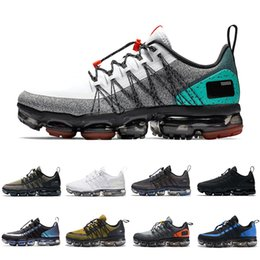 teal laces Australia - 2019 Cheap Celestial Teal Laser Fuchsia UTILITY running shoes men triple white black REFLECTIVE Wolf grey mens trainers sports sneakers