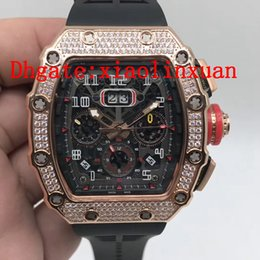 $enCountryForm.capitalKeyWord Australia - Manufacturers new products all ice rose gold men's stainless steel watches imported automatic mechanical men's 43 mm 11-03 diamond watch