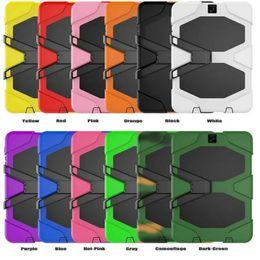 $enCountryForm.capitalKeyWord Australia - Defender Case For Samsung Tab S2 T710 T810 S3 T820 Shockproof Robot Armor Case Heavy Duty Tablet PC Kicksatnd Cover