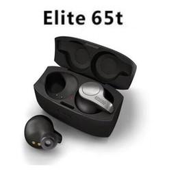 Sport wireleSS bluetooth earphoneS online shopping - Hot Newest Ja bra ELITE65t Bluetooth Wireless Earphones Handsfree Headphone Sports Earbuds Headset For Smartphones Bluetooth Earphones