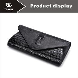 $enCountryForm.capitalKeyWord NZ - Designer Alligator Pattern Bags Quality Genuine Leather Clutch Purses Luxury Handbags Wallet Brand Cow Split Leather Single Bags Sling Tote