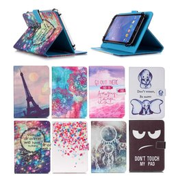 $enCountryForm.capitalKeyWord Australia - Carrtoon Printed Universal 10 inch Tablet PC Case for Sony Xperia Z4 Tablet LTE Cases kickstand PU Leather Flip Cover Case