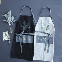 $enCountryForm.capitalKeyWord Australia - New Brief Nordic Wind 100% Cotton Coffee Shops And Restaurant Work Apron Kitchen Cooking Baking Aprons For Woman Man Bib Q190603 Q190603