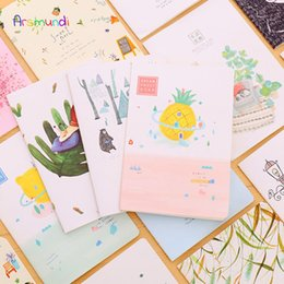 China KOWELL Cute Nordic Kawaii Notebook A5 Student Daily Memos Notebook Animals Leaves Galaxy Stationery Office School Supplies supplier kawaii stationery notebook suppliers