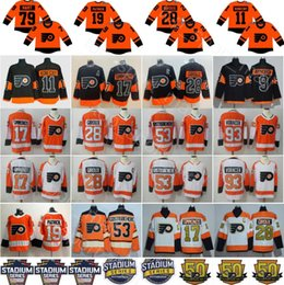 2019 Stadium Series Philadelphia Flyers Jerseys 28 Claude Giroux Konecny  Shayne Gostisbehere Wayne Simmonds Voracek Provorov Hart Patrick 659e2a06a