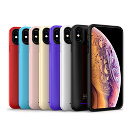 $enCountryForm.capitalKeyWord NZ - Mobile phone case for iphone xs MAX 5000mah charging treasure new mobile phone case with power bank