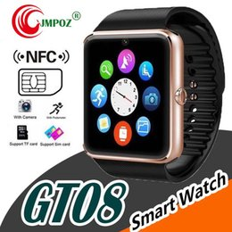 $enCountryForm.capitalKeyWord Australia - Bluetooth Smart Watch GT08 Watch Phone Smartwatch Gt08 Sim Card TF Card Camera Smart Clock for Apple Watch Iphone 7 6 6s Android