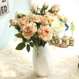 $enCountryForm.capitalKeyWord Australia - 2 Heads Jenny Rose Single Branch Simulation Flower Home Decoration Wedding Flower Real Touch Flowers GF16042