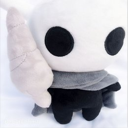 Figures Australia - 30cm(11.8inch) Hot Game Hollow Knight Plush Toys Figure Ghost Plush Stuffed Animals Doll Brinquedos Kids Toys for Children Birthday Gift C2