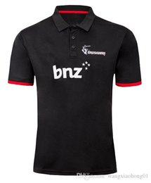 $enCountryForm.capitalKeyWord Australia - 2019 New Zealand Crusaders Super Rugby Players Media Shirt rugby Jerseys Crusaders shirts League jersey size S-3XL (can print)