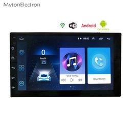 2 Din Radio Android Bluetooth Navigation GPS wifi vidéo stéréo 7 pouces 1024 * 600 Appuyez sur Tableau PC Universel dans le lecteur multimédia de voiture