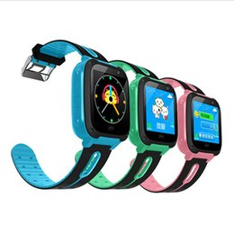 Gps smartwatch children online shopping - Smart Watch For Kids Q9 Children Anti lost Smart Watches Smartwatch LBS Tracker Watchs SOS Call For Android IOS Best Gift For Kids