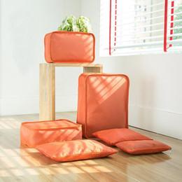 $enCountryForm.capitalKeyWord Australia - 7pcs set High Quality Travel Bag Set Women Men Luggage Organizer For Clothes Shoe Waterproof Packing Cube Portable Clothing