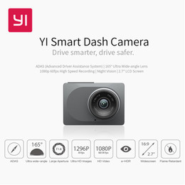 "Discount hd camera for car videos - YI Smart Dash Camera Video Recorder WiFi Full HD Car DVR Cam Night Vision 1080P 2.7"" 165 Degree 60fps Camera For Ca"