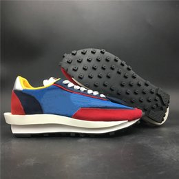 $enCountryForm.capitalKeyWord Australia - Good Quality Sacai LDV Waffle Blue Multi Man Designer Casual Shoes Varsity Blue Del Sol Varsity Red Black Woman Fashion Sneakers With Box
