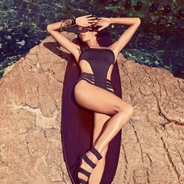 Swimsuit Wraps For Woman Australia - 2019 Hot Sell Sexy Korean Sweety Wrap One Piece Swimwear Swimsuit for Women Slim Fit Cover Belly Swimsuit With chest pad best elasticity