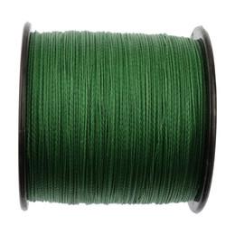 Wholesale Braided fishing line 500m super pe wire 4 strands 10 15 20 25 30 40 50 60 70 80 90 100LB green grey yellow multicolor 4 braid cord