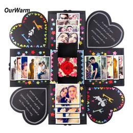 $enCountryForm.capitalKeyWord NZ - heap Bags & Wrapping Supplies OurWarm DIY Surprise Love Explosion Box Gift Explosion for Anniversary Scrapbook DIY Photo Album birth...
